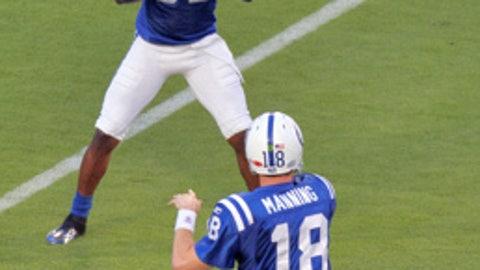 Peyton Manning to Reggie Wayne, Indianapolis Colts