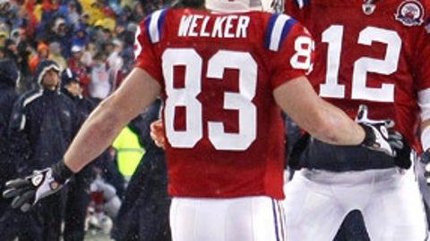 Tom Brady to Wes Welker, New England Patriots