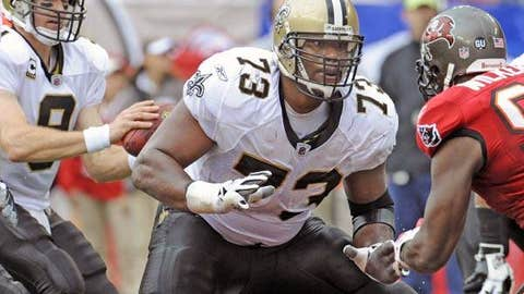 91. Jahri Evans, G, Saints (2009 Rank: Unranked)