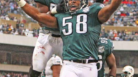 95. Trent Cole, DE, Eagles (2009 Rank: Unranked)