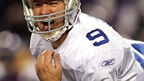 25. Tony Romo, QB, Cowboys (2009 Rank: 28)