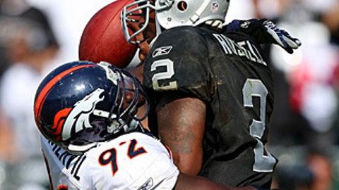 40. Elvis Dumervil, LB, Broncos (2009 Rank: Unranked)
