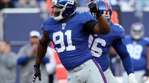 44. Justin Tuck, DE, Giants (2009 Rank: 34)