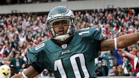 53. DeSean Jackson, WR, Eagles (2009 Rank: Unranked)