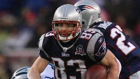 54. Wes Welker, WR, Patriots (2009 Rank: 48)