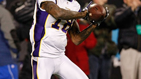62. Sidney Rice, WR, Vikings (2009 Rank: Unranked)
