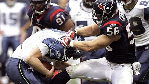 73. Brian Cushing, LB, Texans (2009 Rank: Unranked)