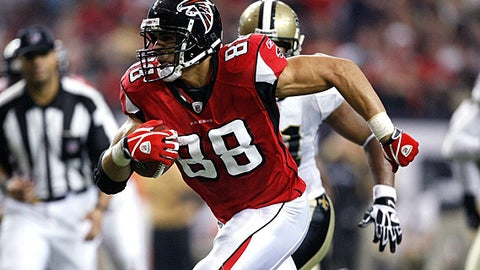 79. Tony Gonzalez, TE, Falcons (2009 Rank: 93)