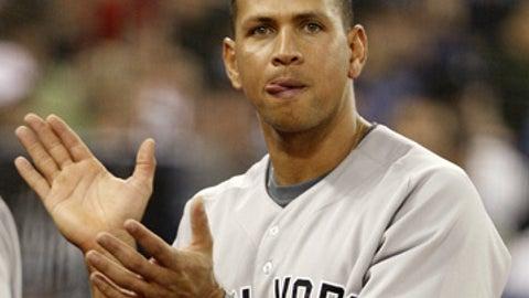 Alex Rodriguez, 3B, New York Yankees