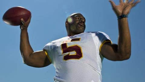 Donovan McNabb, No. 5, Washington Redskins