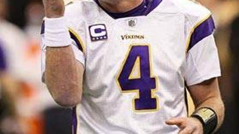 Brett Favre, No. 4, Minnesota Vikings