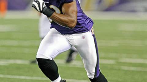 Ravens receiver Lee Evans