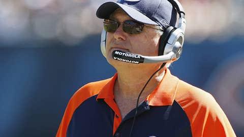 Bears offensive coordinator Mike Martz