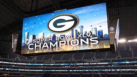 First-class team: Green Bay Packers