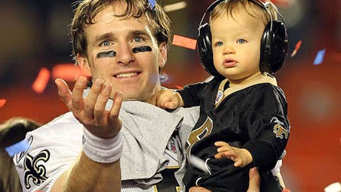 First-class person: Drew Brees