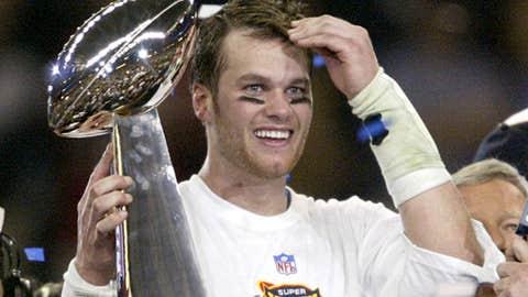 First-class winner: Tom Brady