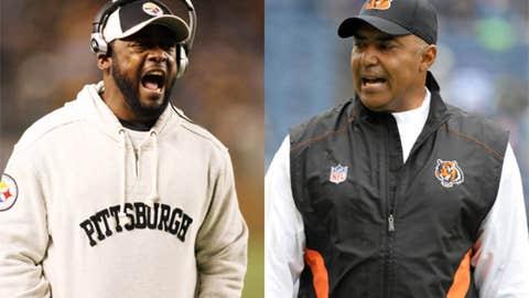 Pittsburgh Steelers at Cincinnati Bengals (Sunday, 1 p.m. ET, CBS)