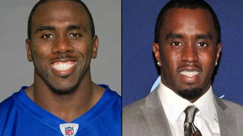 Bills RB C.J. Spiller and entertainer Diddy