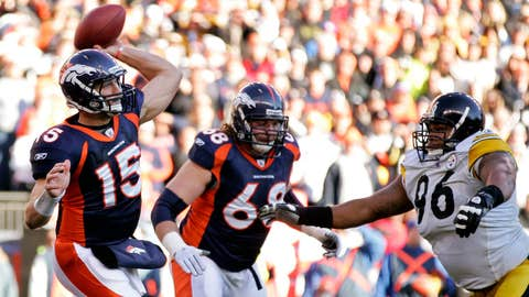 2011 season: Denver 29, Pittsburgh 23 (OT)