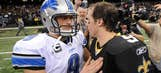 Images from the Lions-Saints wild card game