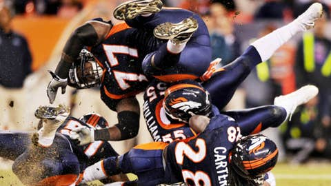 Broncos 23, Patriots 41