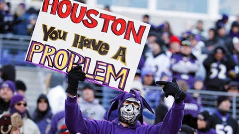 November 27: Houston Texans at Baltimore Ravens, 8:30 p.m. ET