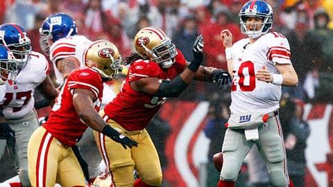 November 12: New York Giants at San Francisco 49ers, 4:25 p.m. ET