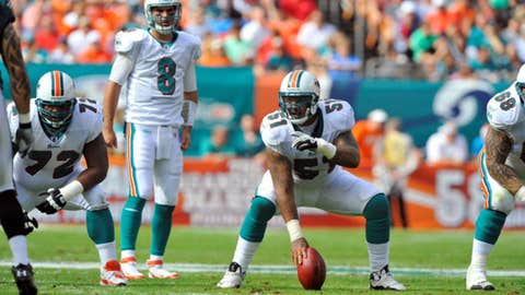 15. Mike Pouncey, C, Dolphins
