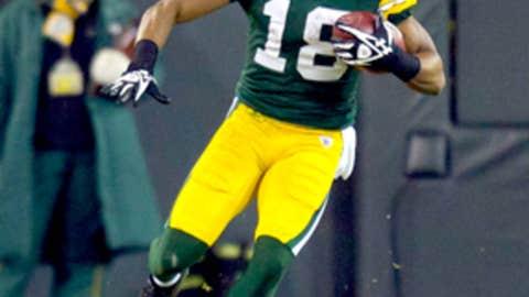 Green Bay: Randall Cobb, WR