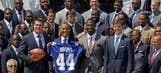 Giants make White House appearance