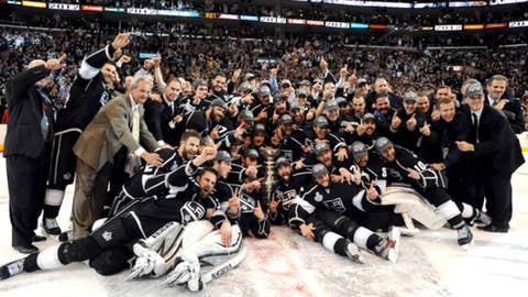 Los Angeles Kings win the Stanley Cup