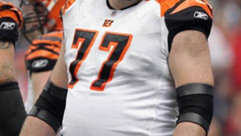 No. 76: Andrew Whitworth, OT, Bengals