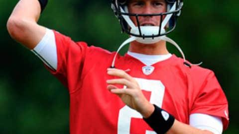 No. 70: Matt Ryan, QB, Falcons