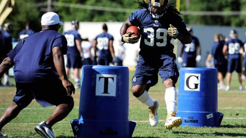 No. 90: Steven Jackson, RB, Rams