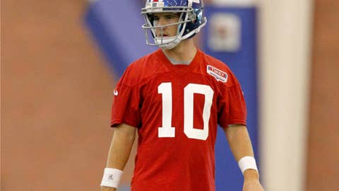 3. Eli Manning, QB, Giants