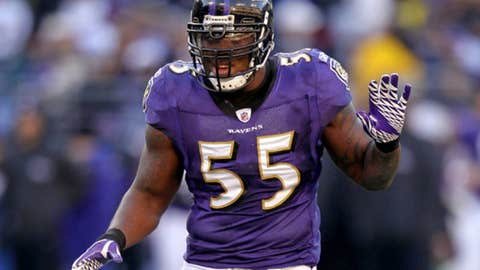 15. Terrell Suggs, LB, Ravens