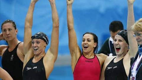 US women swimmers