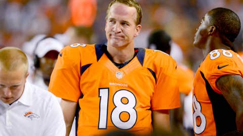 Denver: When will the Manning-led offense start looking like a Manning-led offense?
