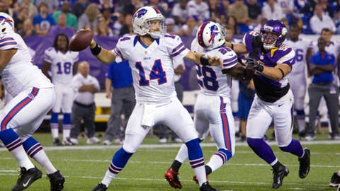 Buffalo: Will Bills begin to look worthy of the offseason hype?