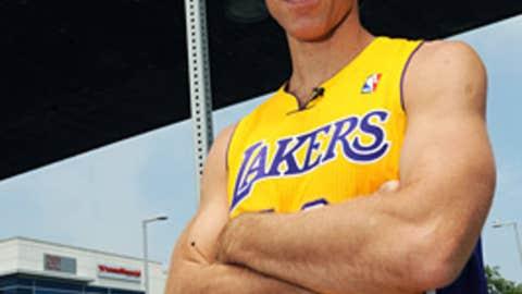 Steve Nash is a Laker???