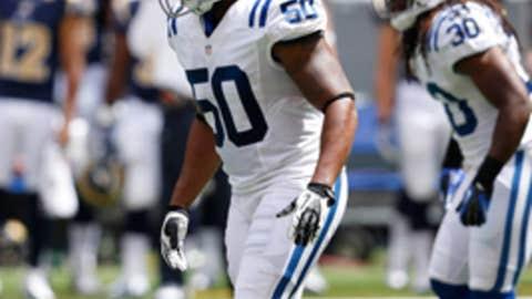 Indianapolis: Inside linebacker Jerrell Freeman