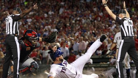 Umpire the World Series