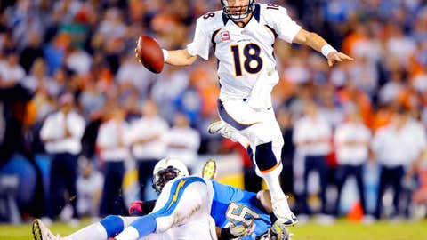 Oct. 15, 2012: Broncos 35, Chargers 24
