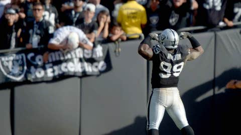 The Raiders aren't done. Not yet, at least.
