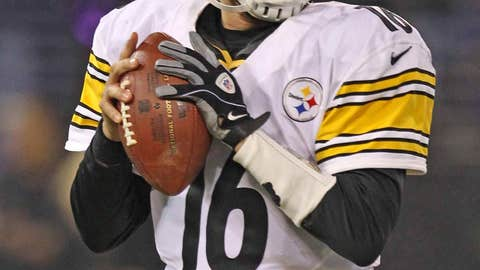 If Sunday was the last start of Charlie Batch's career, he did it right