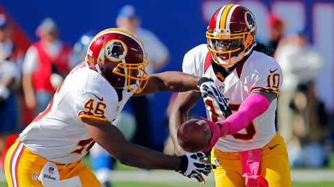 Can the Ravens D stop RGIII and Alfred Morris?