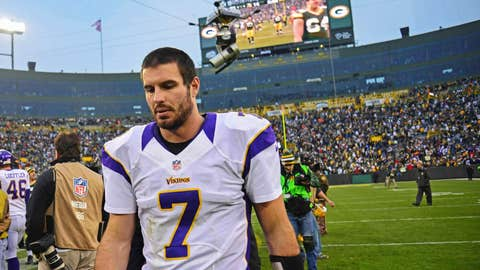 Christian Ponder's engaged. Neat. Now, can he go out and play well in a big football game?