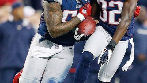 Patriots' defense stiffens up
