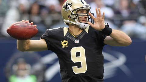 Carolina Panthers at New Orleans Saints (Sunday, 1 p.m. ET on FOX)