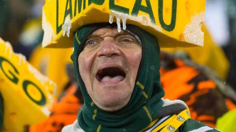 Lambeau at night? Eh, no big deal